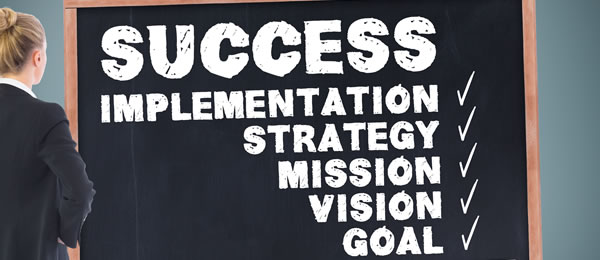 Success corporate coaching and goal setting